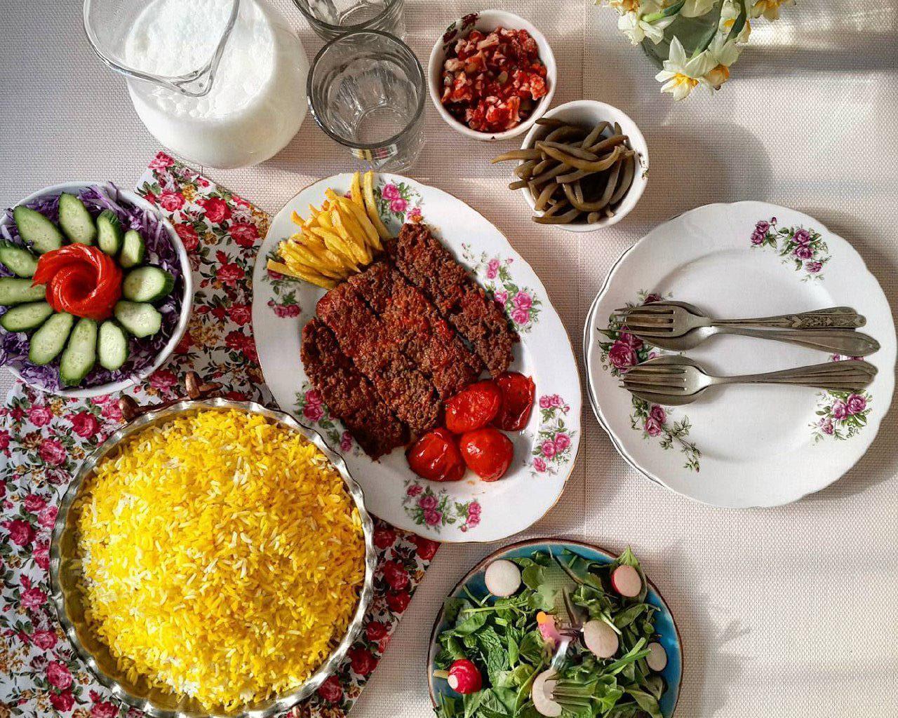 أطعمة الإيرانية