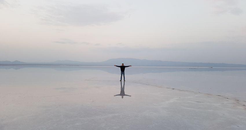 بحيرة حوض سلطان المالحة