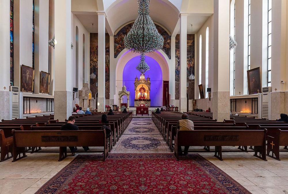 سيركيس المقدس والعمارة في العصور الوسطى