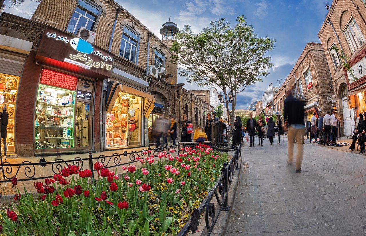 -شوارع إيران - شارع التربية في تبريز