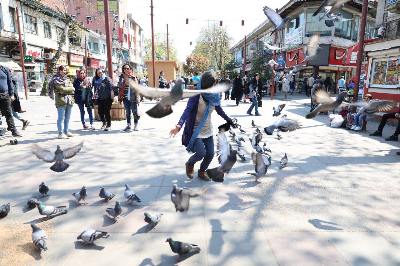 شوارع إيران - شارع علم الهدى في رشت