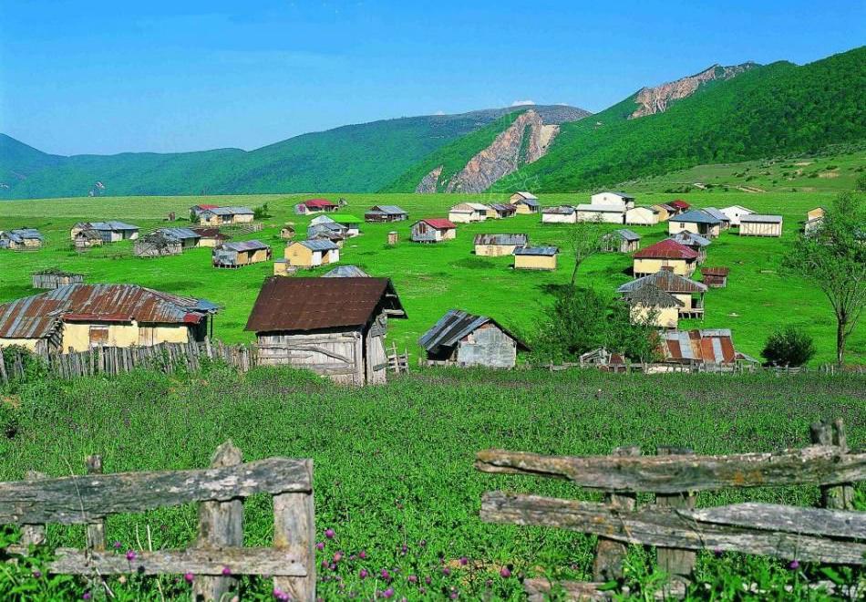قرية جهان نما في شمال إيران