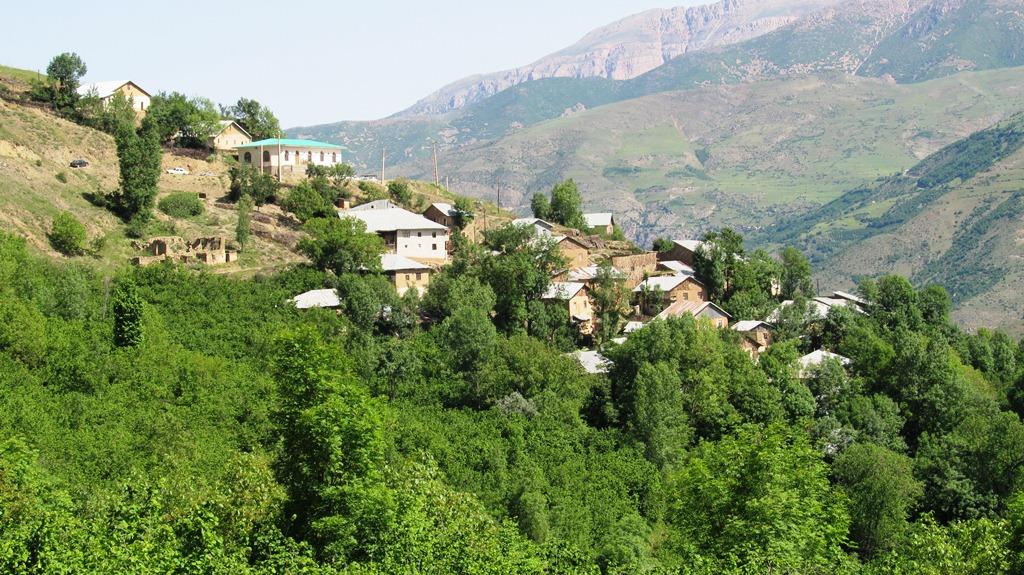 قرية رحيم آباد في شمال إيران