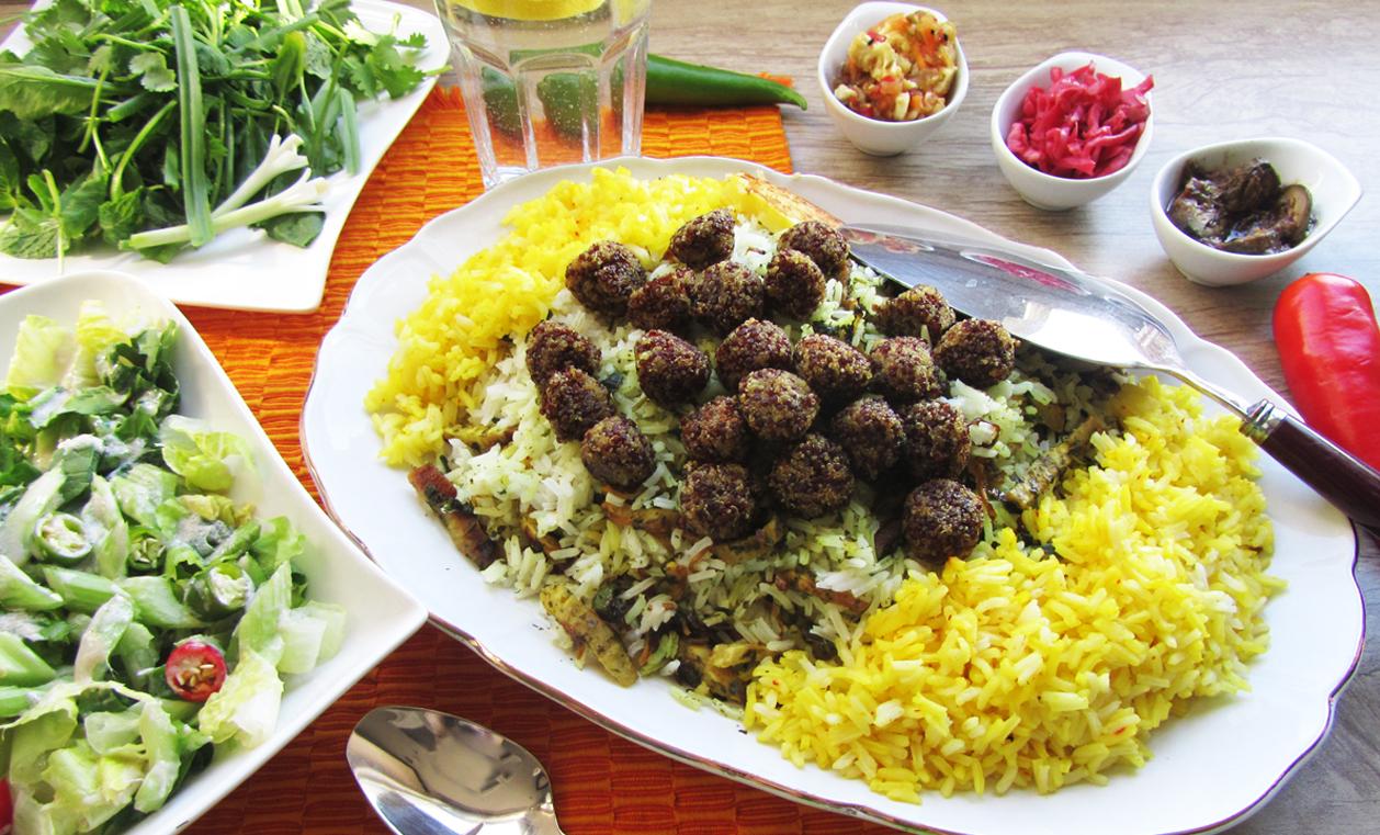 كلم بلو شيرازي -مطعم شيراز