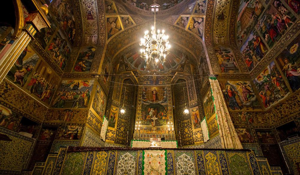 وانك ، الكنيسة الإيرانية الرائعة