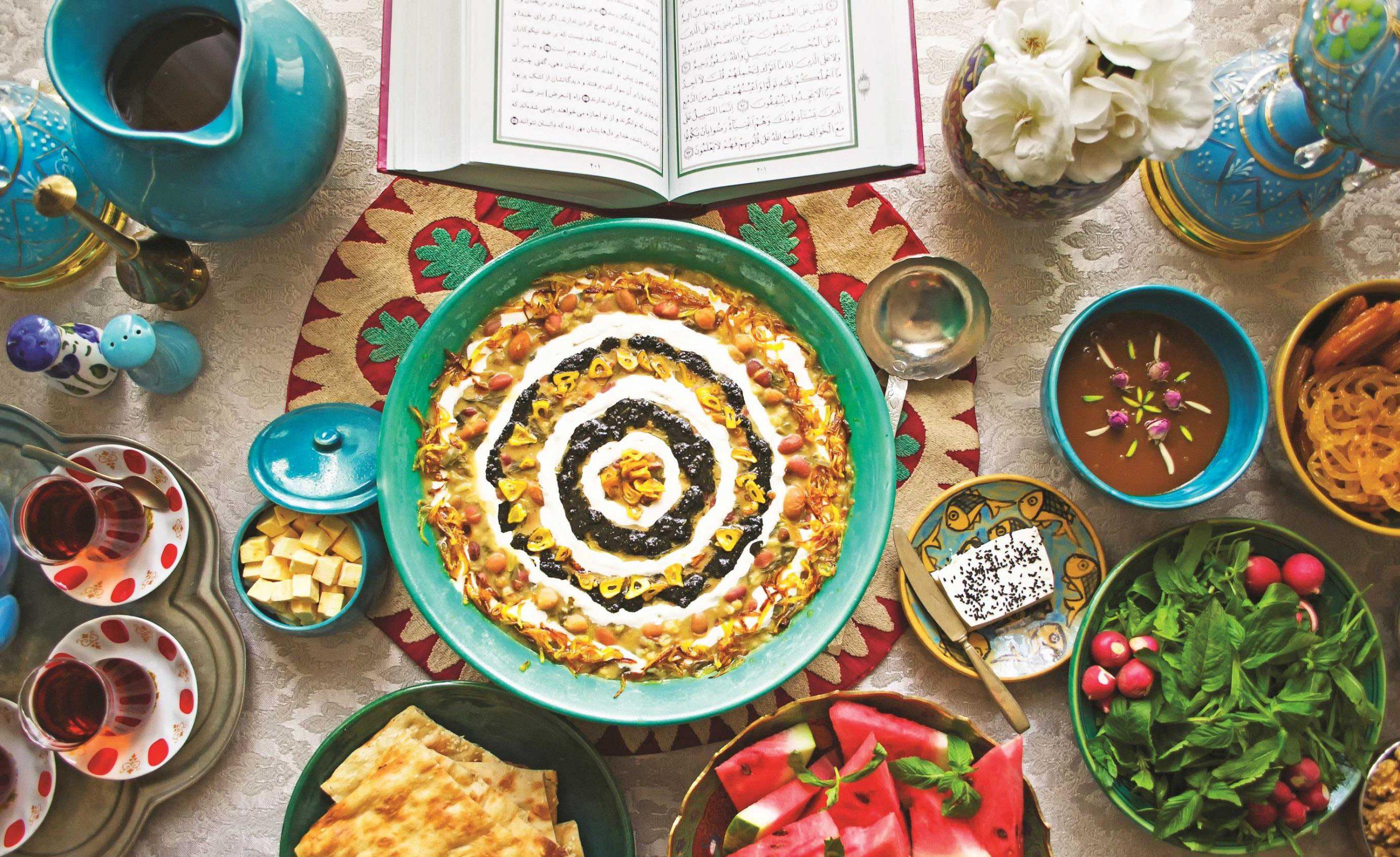 أطعمة الإيرانية في شهر رمضان