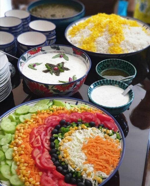 أكثر الأطباق الإيرانية