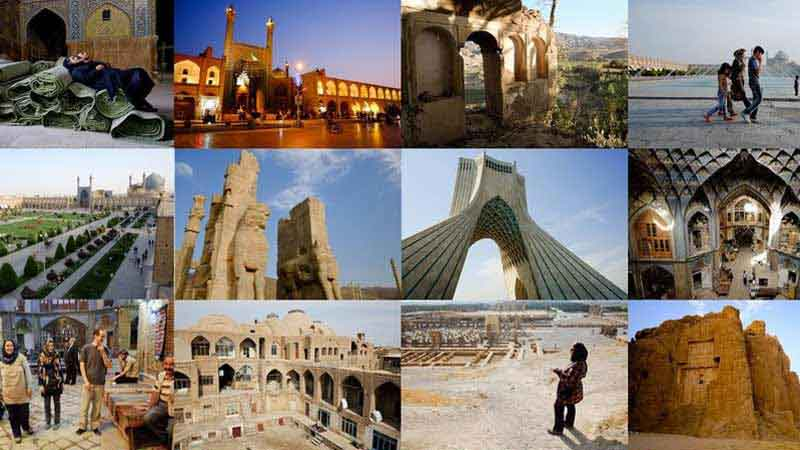 مناطق الجذب السياحي في إيران