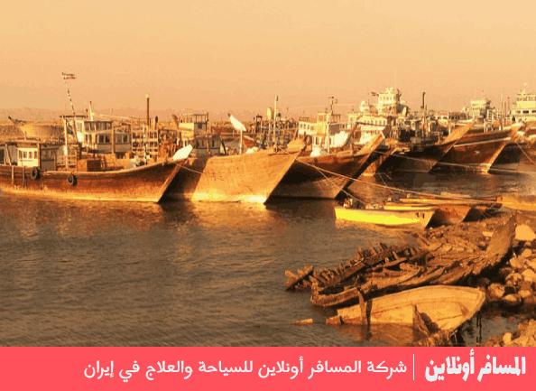 مدينة بوشهر الإيرانية