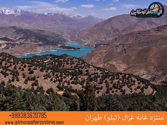 منتزه غابة غزال (تيلو) طهران