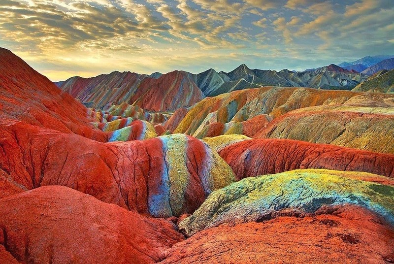 جبال المريخ- المعالم السياحية لمدينة تشابهار الإيرانية
