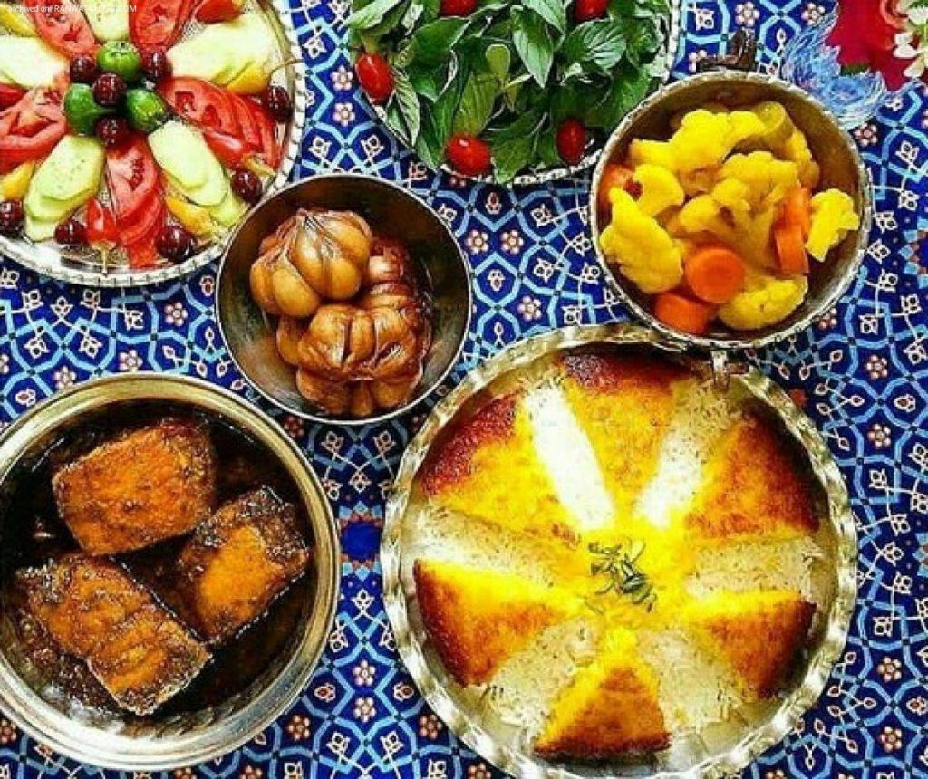 تعرف على الأطعمة الإيرانية